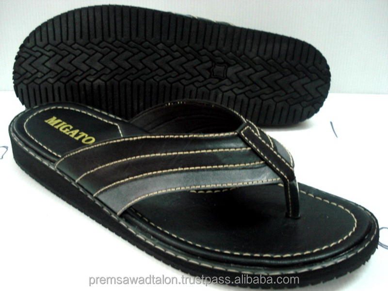 7300484e6b05 Men Beach Slippers Sandals Made In Thailand - Buy Men Beach Slippers Sandals
