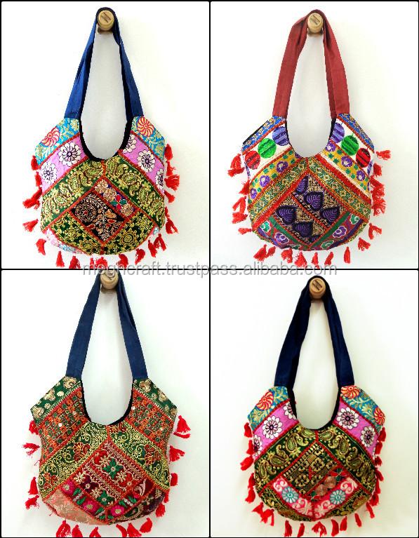 Wholesale Lot Bag Tote Kantha Shoulder Women Handbag Messenger Leather Handle 20