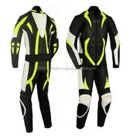 Leather Motor Bike Racing Super Style Biker Suit