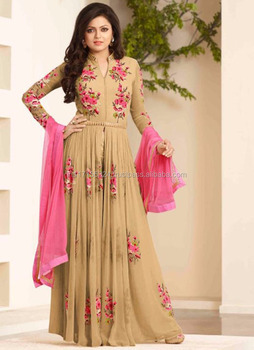 0e46ea757b Wholesale price bulk pakistani anarkali salwar kameez - Fancy designer  anarkali suits for women - Embroidered