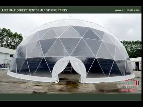 25m Span Width Geodesic Dome Tent Half Dome Tent for Event Party Installation : cheap dome tents - memphite.com
