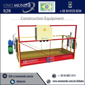 Suspended Platforms - Manual Lift - C3 Equipamentos - Buy Suspended  Platforms,Hoist Suspended Platform,Suspended Wire Rope Platform Product on
