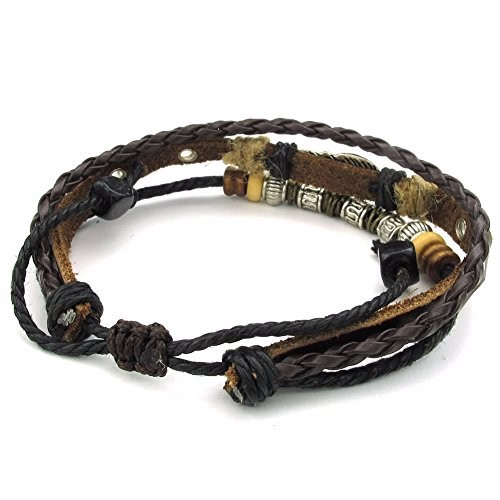 Handmade Leather fashion charm bracelets