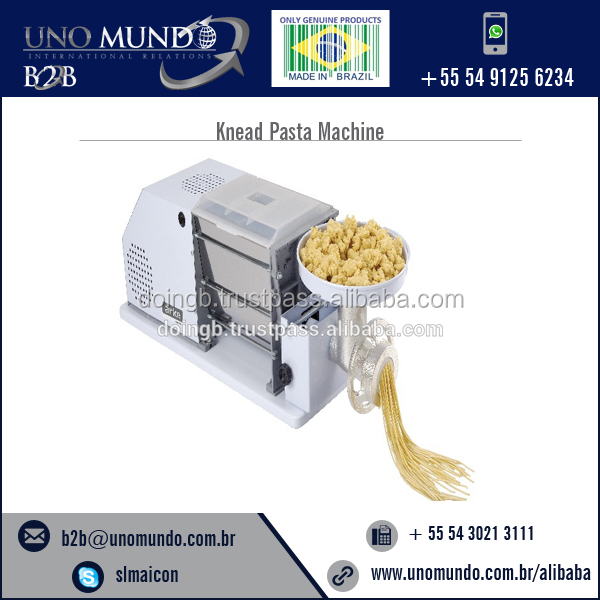Easy to Make Knead Pasta Machine at Low Price