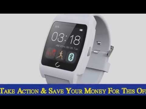 Smart U Watch UX Heart Rate Monitor Fitness Bluetooth SmartW