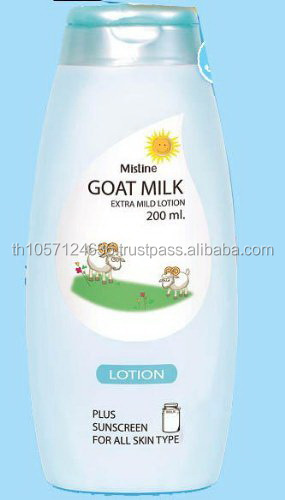 Mistine Goat Milk Extra Mild Lotion for Healthy Skin