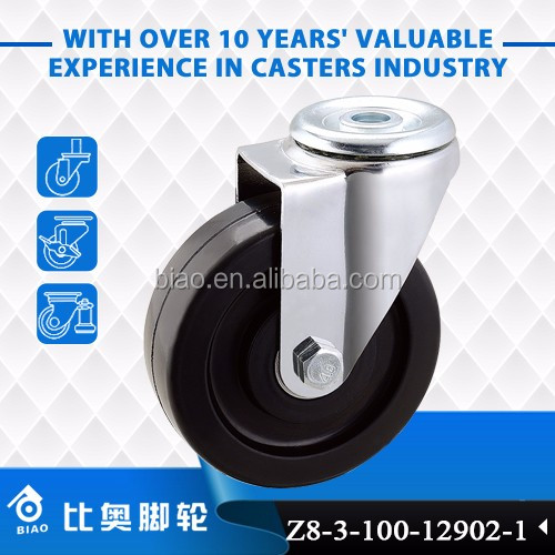 Hot sale 75MM/100MM/125MM luggage caster wheel