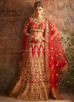 5d9db8a150 Indian Wedding Function Lehenga Choli - Buy Dulhan Lehenga Choli ...