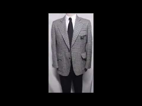"D23 DAVIS23 M VINTAGE ENGLISH HUNTER CUT BLAZER 23"" ARMS SPORT COAT JACKET CHECK BUCKLE POCKETS"