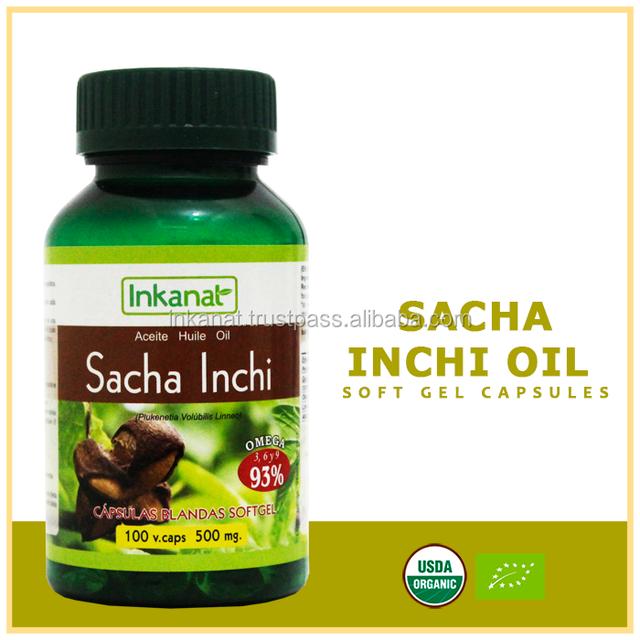 Sacha Inchi in Kapseln zum Abnehmen