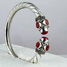 Red Color Gemstone Coral Round Shape 925 Sterling Silver Jewelry, Wholesale Indian Silver Jewelry, Silver 925 Jewelry