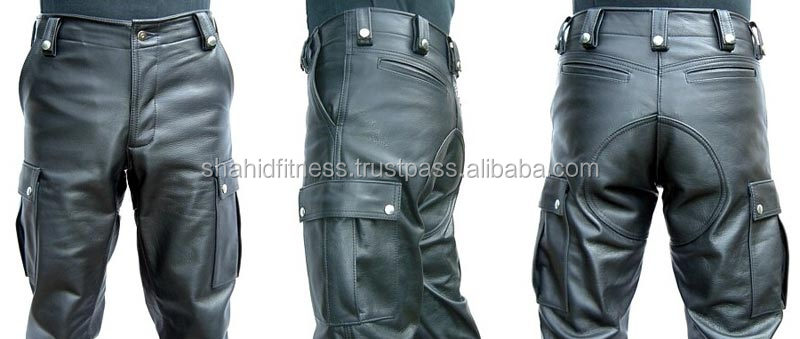 Leather Motorbike Pant for Men/ Racing Leather Pant