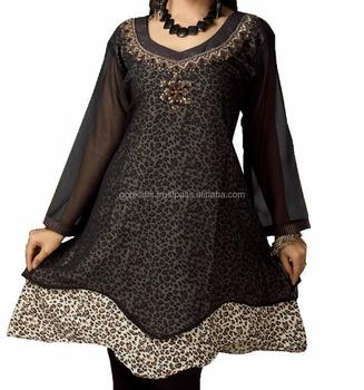 Indian Design Kurti/royal Embroidered Trade Long Top Indian Kurti ...