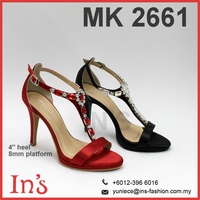 Evening wear Ladies High Heels Shoes in from Malaysia