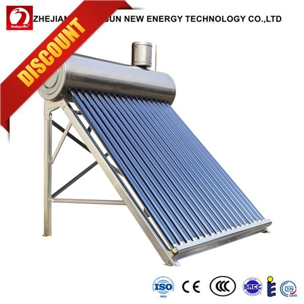 Vacuum Tube Solar Manifold Heating Systems Swimming Pool