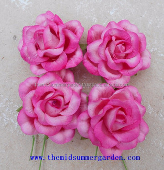Handmade paper rose bud flower for artcraftdiyhobbywedding and handmade paper rose bud flower for art craft diy hobby wedding and mightylinksfo