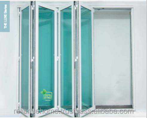 Malaysia Reliance Home The Luxe Series Powder Coated Aluminium Foldable Multifolding Door