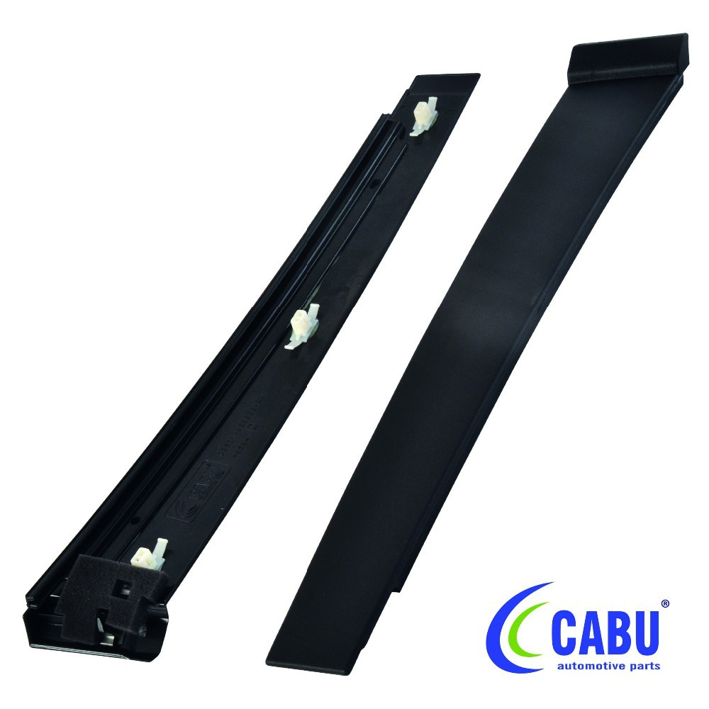 Rear Door Window Frame Moulding (lh) For Ford Fiesta (02-08) 2s061 ...