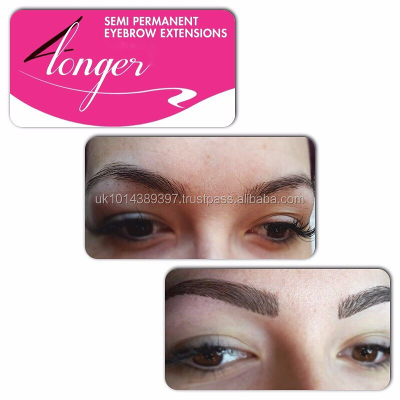 Semi permanent extensions de sourcils am lioration salon kit pour 3d sourcils faux cils id de - Salon 3d extension de cils ...