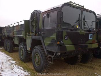 Man Kat 1 8x8 Winch Truck Ex Army - Buy Ex Military Army Trucks Product on  Alibaba com
