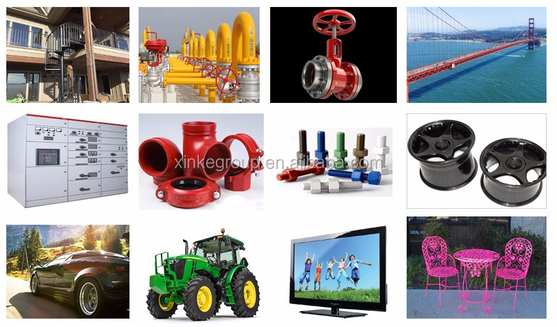 Smooth Finish Epoxy Polyester Powder Coating Manufacturers