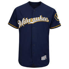 buy popular cb2dd d99bf Milwaukee Brewers Jersey