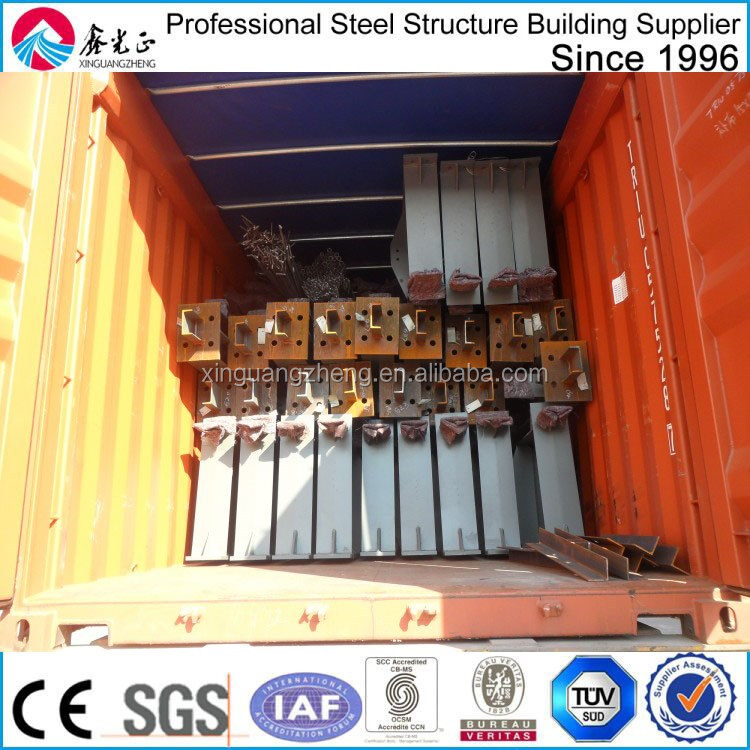 prefabricated iso certification steel shed design