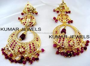 a50858233b7b7 Long Mughal Earrings, Long Mughal Earrings Suppliers and ...