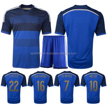 7de1cfe3c45 Custom Cheap Price Full Team Set Soccer Uniform Jersey Sublimation Printing  Numbers   Name Logo Soccer