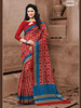 Printed Stylish Saree With Unstitched Blouse