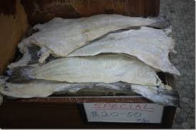 w2 Dried Salted Pollock Fillets