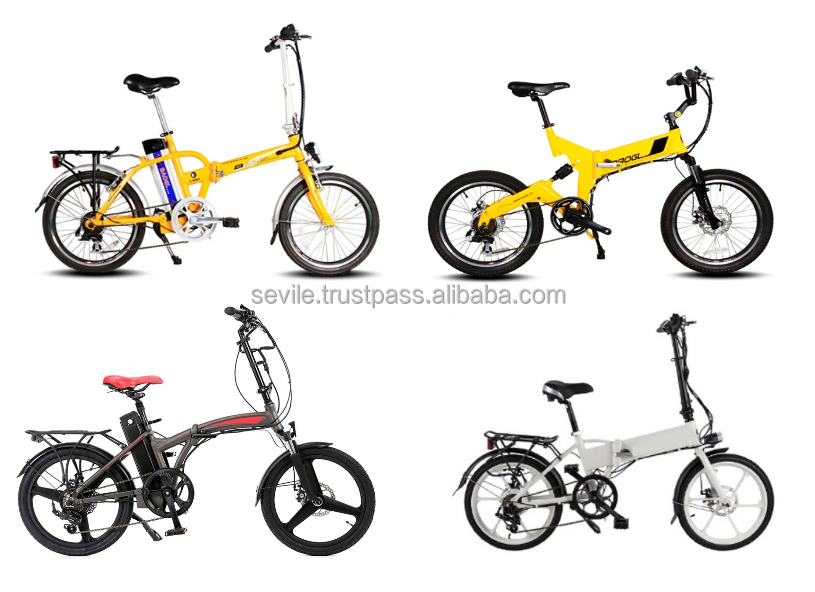 Folding City Electric Bike Green Power E-bicycle