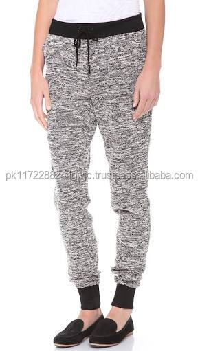 2017 OEM Customized Brand Ladies Tight Bottoms Sweatpants/Custom High Quality 100% Cotton Cheap Price Yoga Sweat Pants Fitness