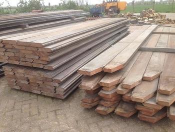 Azobe Bongossi Hardwood Vintage Old Decking Terrasse Buy