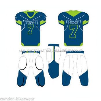 04c5212715d45 Sublimación en blanco baratos jerseys del fútbol americano al por mayor  diseño