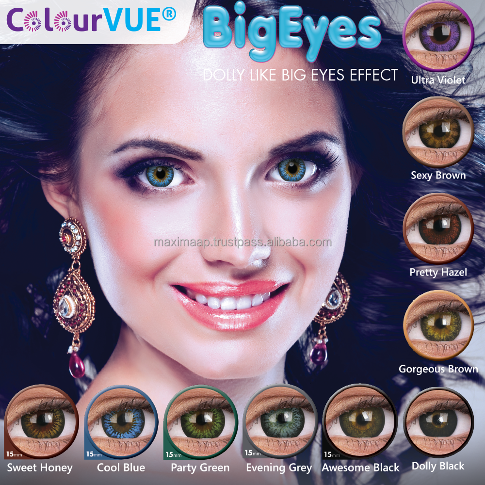 Malaysia Soft Lens Manufacturers And Suppliers Softlens Lovely Girl Sweety Black On