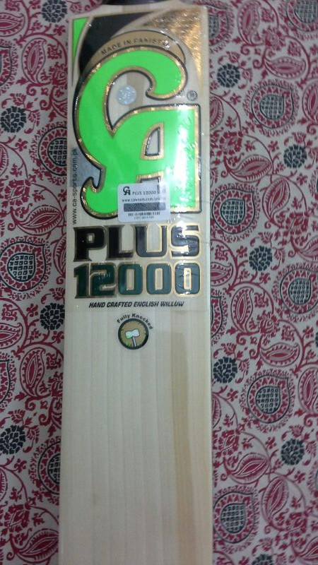 CA Cricket Bat Plus 12000 Model / Wooden English Willow Cricket Bats
