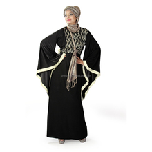 Latest Abaya fashion front open abaya wholesale islamic abaya