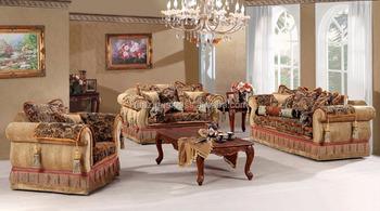 Premium Quality Wood Sofa Sets , Wooden Fine Carved Sofa Set , Wholesale  Rosewood Craved Sofa