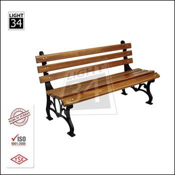 Excellent Outdoor Patio Tuin Park Metalen Frame Houten Bank Buy Park Bench Hout Latten Voor Gietijzer Bench Tuin Bench Product On Alibaba Com Ibusinesslaw Wood Chair Design Ideas Ibusinesslaworg