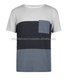 Front Pocket Multi Colors T shirt