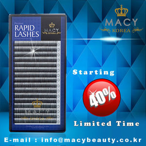 eyelash extensions professional Rapid lashes korea lashes