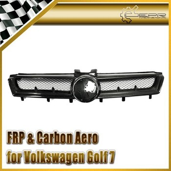 Car Carbon Type C Front Grill Cover For Golf 7