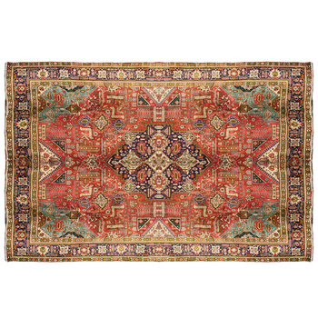 Hand Knotted Wool Classic Persian Area Rug For Living Room Vintage Floral Design Oriental Rug Buy Persian Rug Rectangular Turkish Vintage Wool