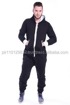 cd9d98cefa Men s Unisex Onesie Jumpsuit One Piece Non Footed Pajama Playsuit