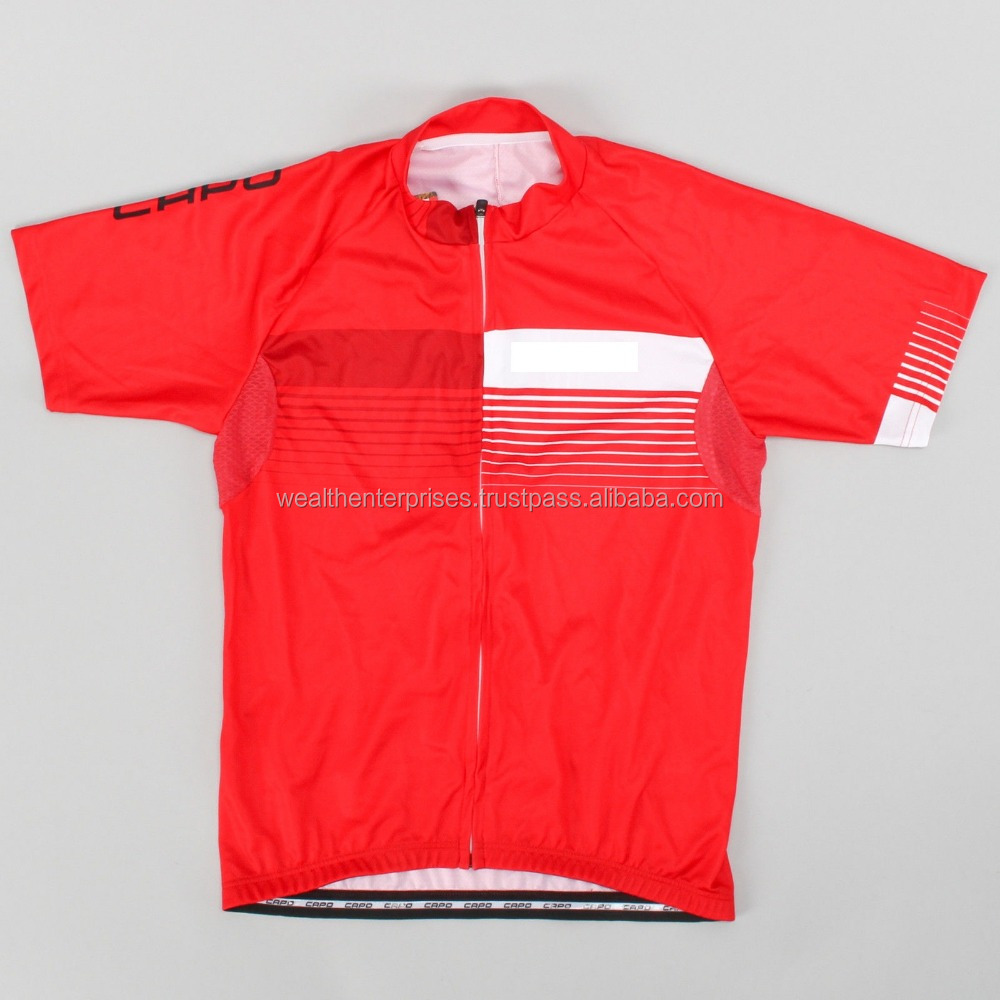 Blank cycling jersey's/custom blank cycling jersey's/Light weight blank cycling jersey's