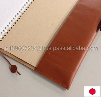 cowhide and japan quality schedule book note cover at reasonable prices