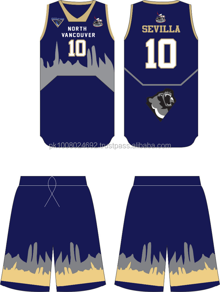 Best design Custom Basketball Jersey and shorts Uniform