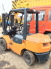 used toyota 3ton lift truck, old toyota forklift, cheap price 3ton forklift for sale!