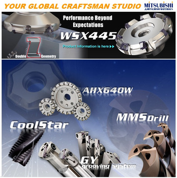 Drilling and milling machine equipped with Mitsubishi Material Tools always show you a high grade metal cutting